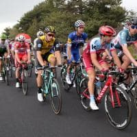 Giro d'Italia sull'Etna, i ciclisti in gara