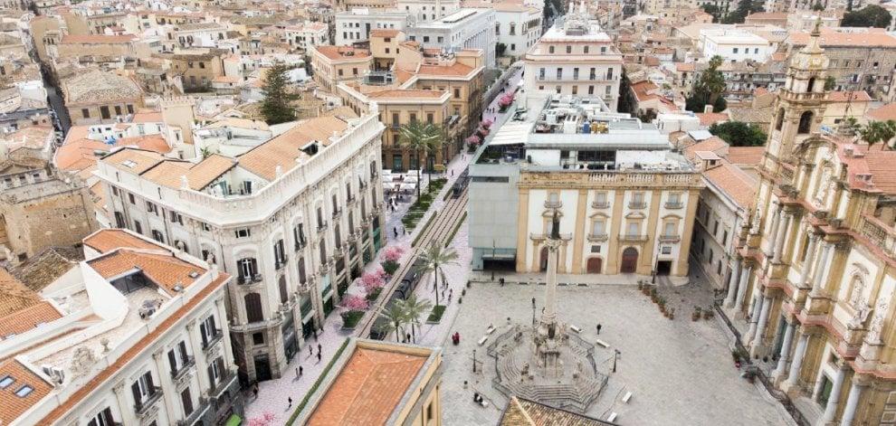 Palermo del futuro: come sarebbero via Roma e via Libertà secondo lo studio Cassata