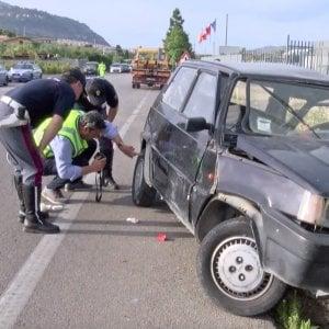 Palermo, scontro frontale lungo la strada statale: muore un uomo di 74 anni