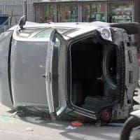 Palermo, incidente nella notte: due feriti