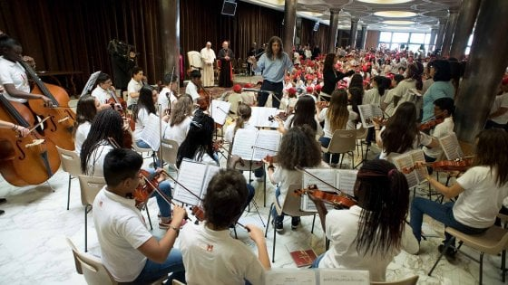 I ragazzi dell'Orchestra Quattrocanti al Politeama. Gli appuntamenti di mercoledì 30 maggio