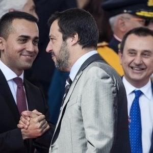 La tournée in Sicilia di Salvini e Di Maio, alleati-nemici