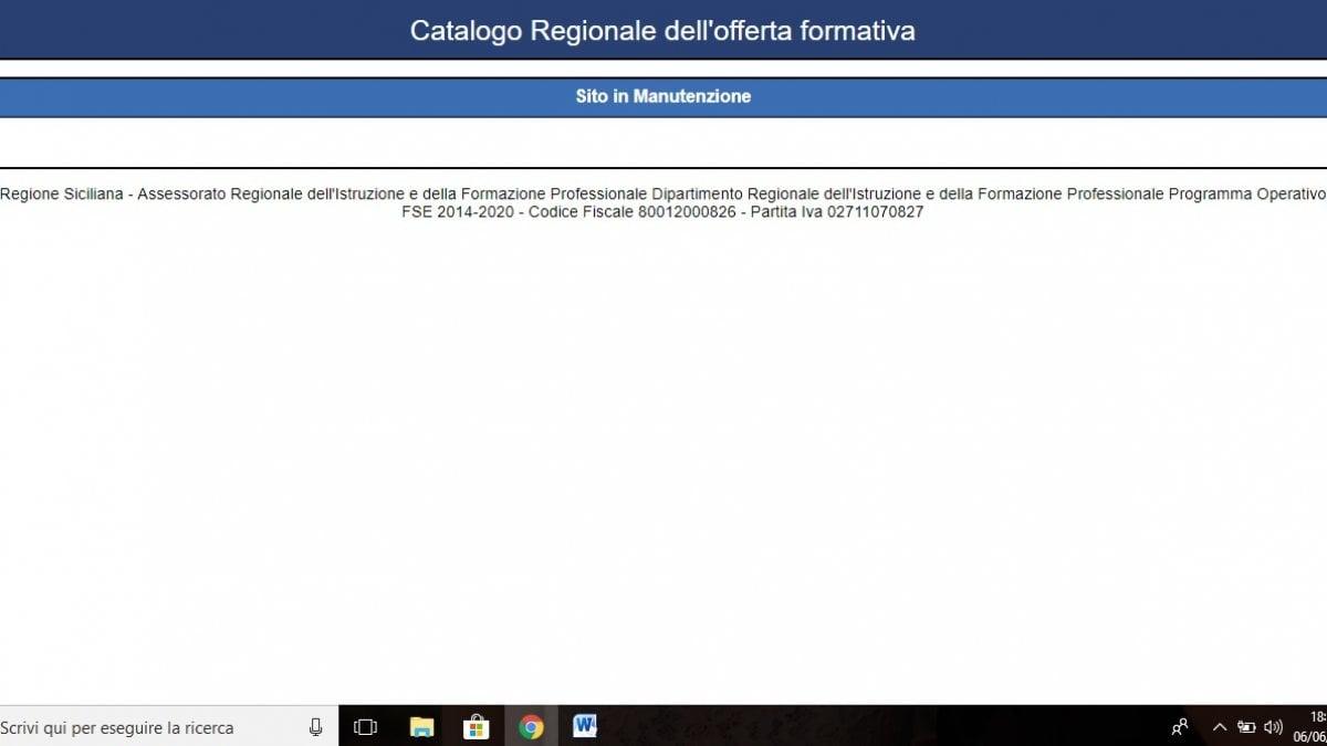 Formazione sito web della regione a singhiozzo per le for Sito della repubblica