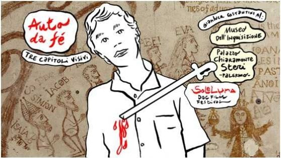 Palermo, i disegni di Costantini per dar voce ai detenuti per reati d'opinione al Sole Luna doc film festival