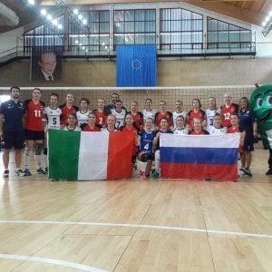 Palermo, argento per l'Italia del volley femminile sorde ai campionati europei