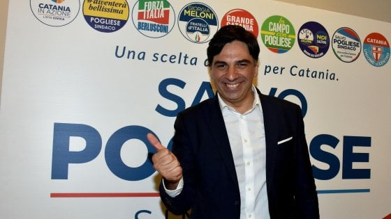 """Elezioni a Catania, finisce l'era Bianco: il forzista Pogliese doppia il """"sindaco eterno"""""""