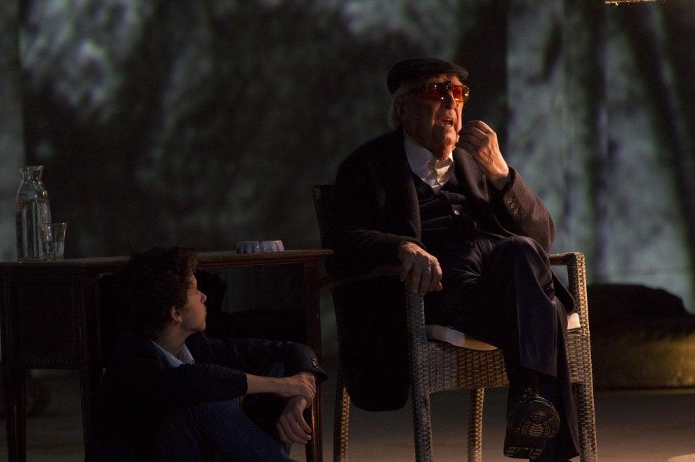Siracusa, anche Zingaretti applaude la prova d'attore di Camilleri