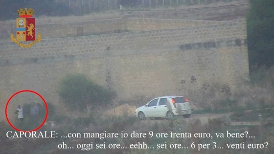 Marsala, immigrati sfruttati nelle campagne per 3 euro all'ora. La polizia arresta due agricoltori