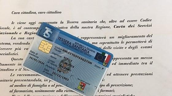 """Palermo: """"Valida fino a 121 anni"""", morta 29 anni fa riceve la nuova tessera sanitaria"""