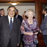 Palermo, la regina d'Olanda applaude l'opera africana al Massimo