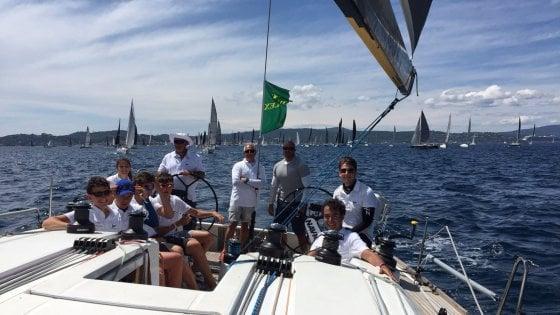Palermo, cinque ragazzi palermitani del Circolo della vela esordiscono alla Giraglia Rolex cup