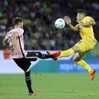 Il Palermo perde a Frosinone, sfuma la A. Giammarva: