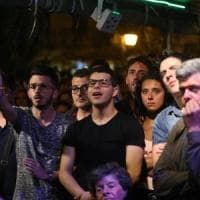 Play off, i tifosi del Palermo in lacrime dopo la sconfitta a Frosinone