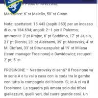 Play off, il post ironico sul Palermo nel sito ufficiale del Frosinone poi cancellato