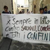 Bloccato striscione contro Salvini: polemica al Siracusa pride