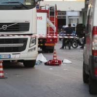 Palermo, Tir travolge un'anziana: ricoverata in gravi condizioni