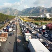Palermo, chiuso il ponte Corleone: la circonvallazione diventa un tappeto