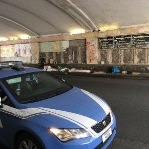 Catania, clochard muore nel sonno sotto il ponte di Villa Bellini