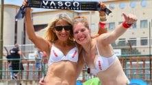 Rep    :           In tenda aspettando Vasco Rossi, Messina vive una notte rock      Foto