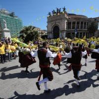 Palermo, 10mila alla manifestazione di Coldiretti: