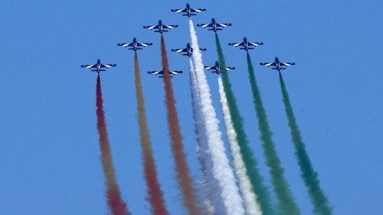 Le Frecce Tricolori nel cielo di Palermo. Gli appuntamenti di domenica 8 luglio