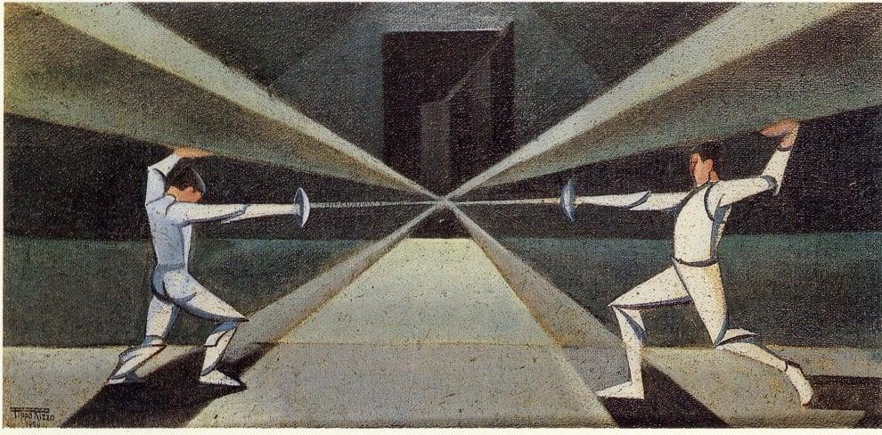 Palermo, dipinti e oggetti di Pippo Rizzo in mostra a Villa Zito