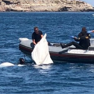 Taormina, cadavere mutilato ritrovato in mare