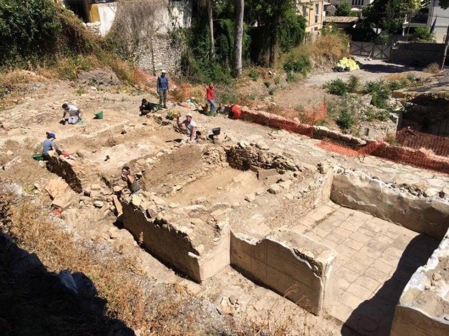 Taormina, scoperto un quartiere di ville romane