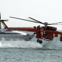 Sicilia, arrivano 6 elicotteri antincendio