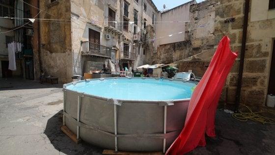 Palermo, come rinfrescarsi senza andare al mare: spunta una piscina fra i palazzi della Vucciria