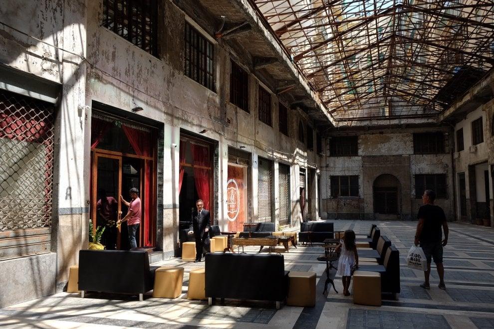 Palermo, rinasce la Galleria delle Vittorie: un ristorante al suo interno