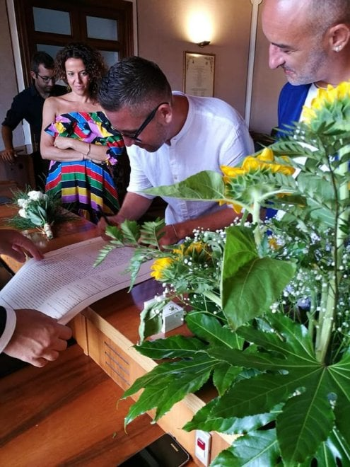 Favignana, prime nozze gay sull'isola