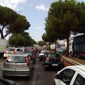 Dopo la fuga di gas, un incidente: Palermo, finito il caos in circonvallazione