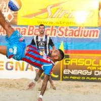 Catania campione d'Italia di beach soccer