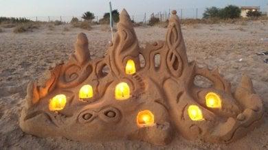 Castelli e sculture di sabbia  le fotografie dei lettori