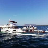 Favignana, yacht affonda a Punta Sottile: salvi i sette membri dell'equipaggio