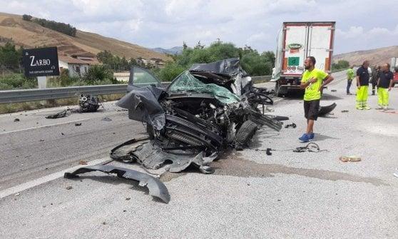 Strage sulle strade siciliane: due morti a Enna, una vittima a Trapani e una nell'Agrigentino