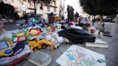 Parte la raccolta dei rifiuti ingombranti  al mercato dell'usato di Ballarò