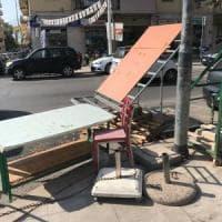 Palermo, sulla bancarella abusiva spunta il cartello