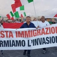Diciotti, a Catania il contro-corteo di Forza Nuova