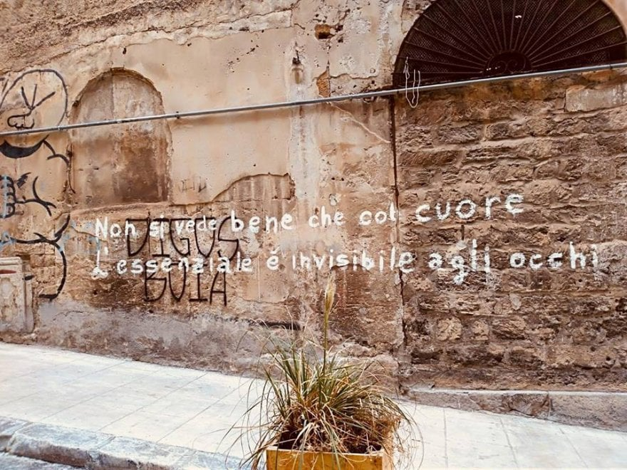 Palermo, torna Propaganda poetica: a Ballarò citazione del Piccolo principe