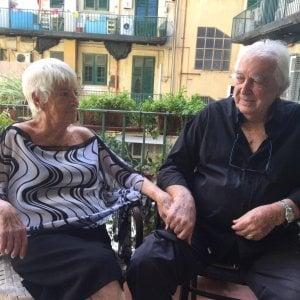"""Palermo, un matrimonio lungo 65 anni: """"nozze di pietra"""" per Melchiorre e Angiola"""