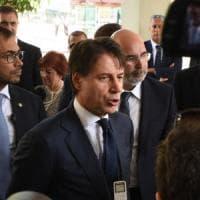 Palermo, arriva il premier Conte. Orlando e Musumeci disertano