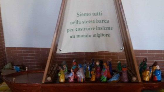 Palermo, tutto pronto da Biagio Conte per il Papa: per accoglierlo una barca realizzata dai migranti