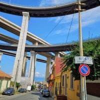 Messina, via all'esodo del viadotto Ritiro. Lavori in corso in un altro