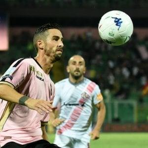 """Palermo, parla Salvi-gol: """"L'abbraccio con Tedino è il segno che siamo uniti"""""""