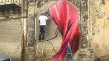 Dal Messico a Palermo  per dipingere un murale  sulla multiculturalità