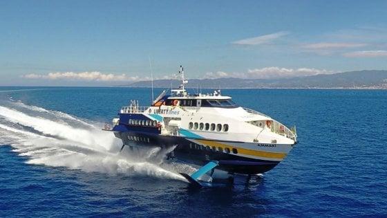 Stretto di Messina, stop agli aliscafi Liberty Lines: a rischio 72 lavoratori