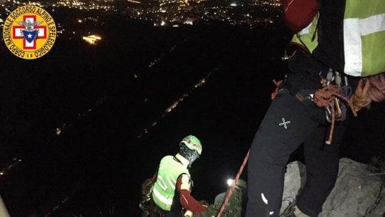 Palermo: scalatori bloccati su Monte Pellegrino, salvati a tarda sera