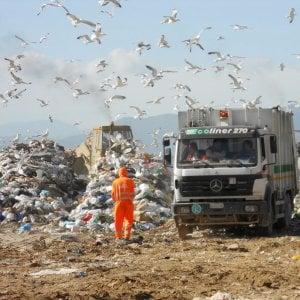 Palermo, una bomba a mano nella discarica di Bellolampo